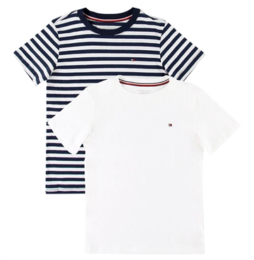 Tommy Hilfiger T-shirts Boys 2-Pak Stripe Navy blazer / White
