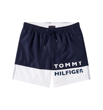 Tommy Hilfiger Boys Swim Shorts Classic White