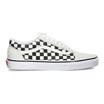 Vans Sko Old Skool Checkerboard Black / White