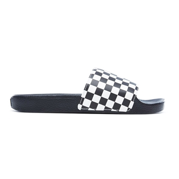 Vans Slippers checkerboard black base