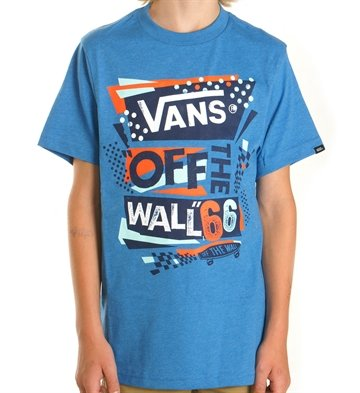 Vans Tee Off The Wall Retro Blue