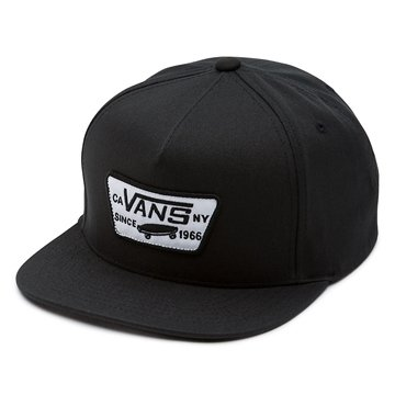 Vans Cap Full Patch Snapback black white