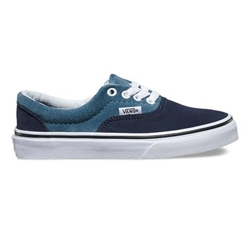 Vans Junior skater sko Era suede Blue