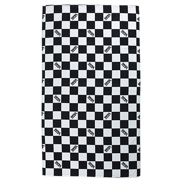 Vans beach towel checkered