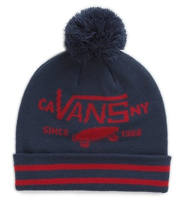 Vans beanie Full Patch II Pombe Navy/Red
