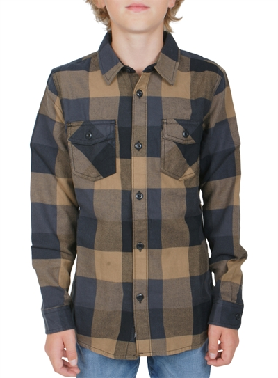 Vans Shirt Flannel Dirt / Black