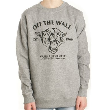 Vans Junior Sweatshirt Crew Cougar cement heather