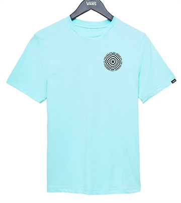 Vans T-shirt Checkered Mint