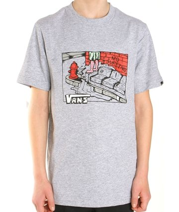 Vans Junior T-shirt Couch Surfer gråmeleret 249,-