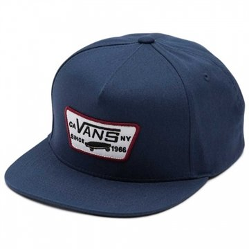 Vans Cap Full Patch Snapback navy blue white
