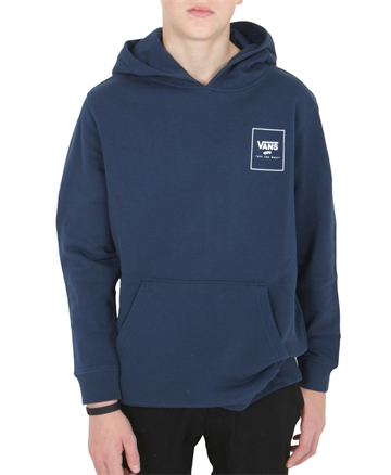 Vans Sweat Hoodie Print Box Backprint Dress Blue