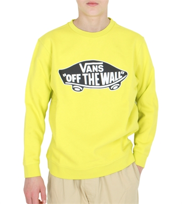 Vans Sweatshirt Off the Wall Sulphur Spring / White Outline