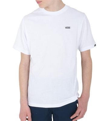 Vans T-shirt Mini logo left chest White