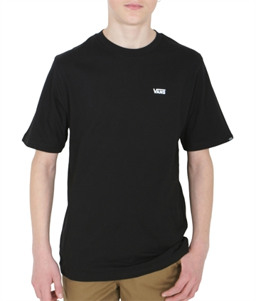 Vans T-shirt Mini logo left chest Black