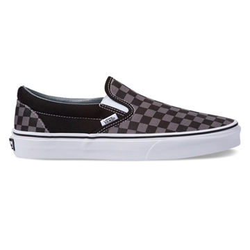 Vans sko SLIP ON Check Black / Pewter