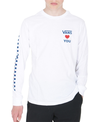Vans T-shirt l/s Autism Awareness White