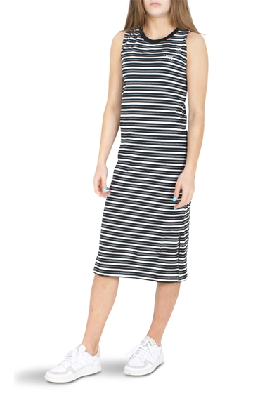 Vans Beach dress WM Mini Check Midi D Black