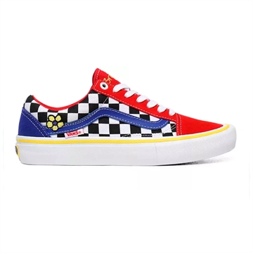 Vans Sko Old Skool Brighton Zeuner Pro model multi