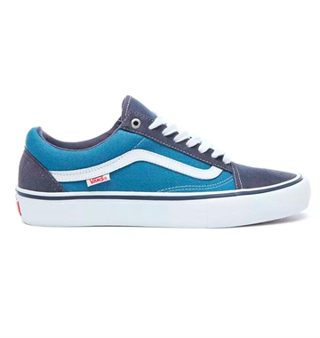Vans Sko Old Skool Pro Skate Navy / White