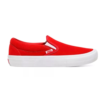 Vans sko SLIP ON PRO Red/White Gum