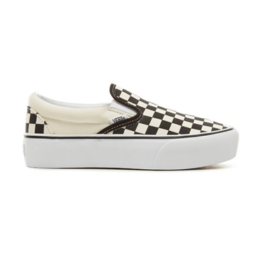 Vans sko Slipon checkerboard Platform