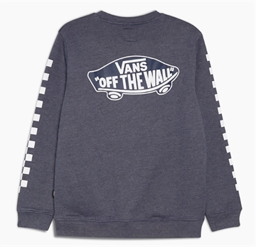 Vans Sweatshirt Exposition Check Dress Blues