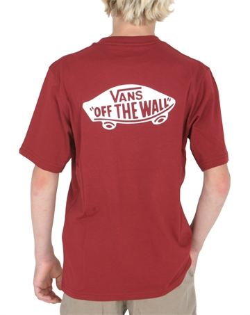 Vans T-shirt OTW Backprint Biking Red / White