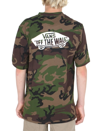 Vans T-shirt OTW Backprint Camo / White