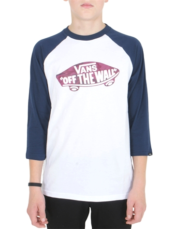 Vans T-shirt Raglan Off The Wall Port Royale Camo
