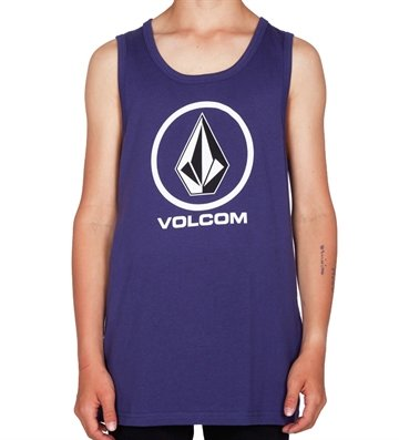Volcom tanktop circle stone purple BPL