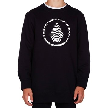 Volcom Sweat Stone Crew Black
