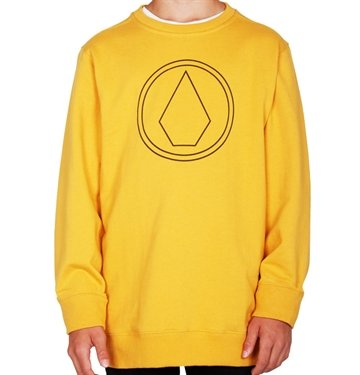 Volcom Sweat Stone Crew DIG yellow