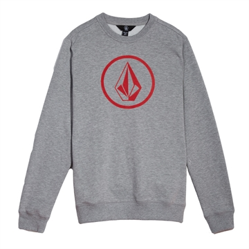 Volcom Sweat Crew Stone Grey