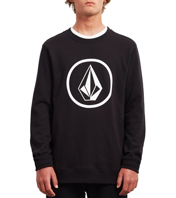 Volcom Sweat Crew Stone Black