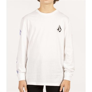 Volcom T-shirt Deadly Stone BSC LS WHITE