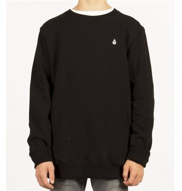 Volcom Crew Sweat Single Stone Black
