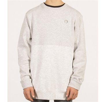 Volcom Crew Sweat Single Stone Light grey Melange