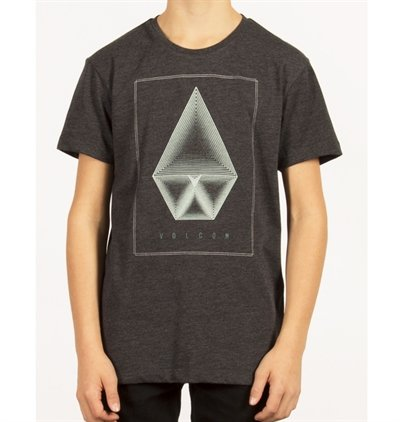 Volcom T-shirt Concentric  HTH HBK