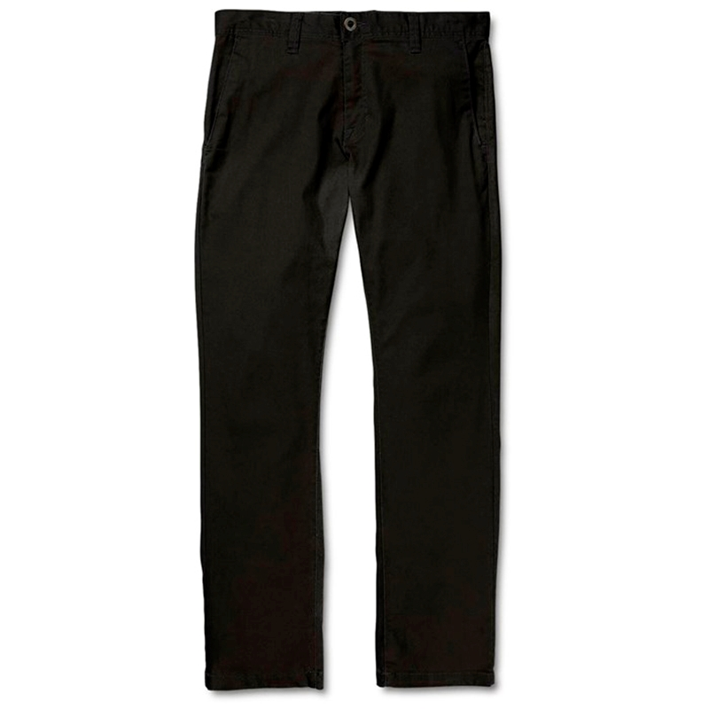 Volcom Chinos Frickin Modern Stretch Black