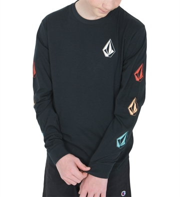 Volcom T-shirt Deadly Stones l/s Black multi