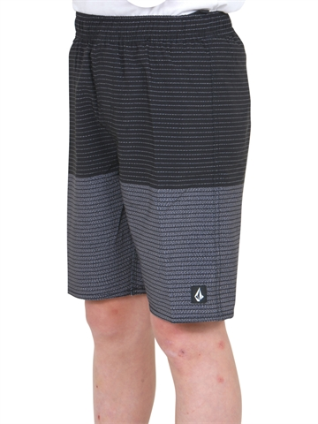 Volcom Beach Shorts Lido Heather Volley Black