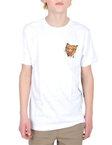 Volcom T-shirt Ozzy Tiger s/s White