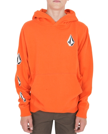 Volcom Sweat Hoodie P/O Deadly Stones TGL Orange