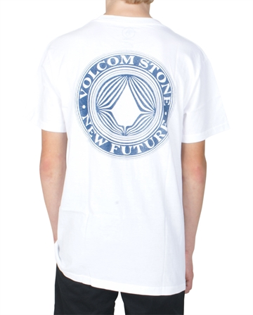 Volcom T-shirt Volcomsphere s/s C3531853 White