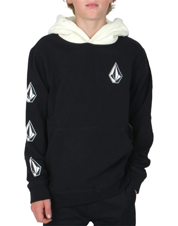 Volcom Hoodie Pullover Deadly Stones C4131805 BLC