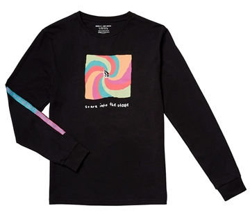 Volcom T-shirt Earth People l/s BLK