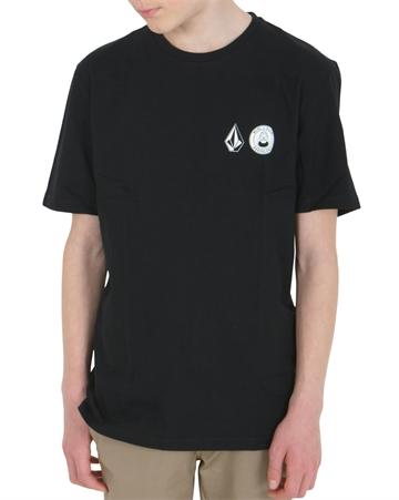 Volcom X Macba T-shirt s/s Black