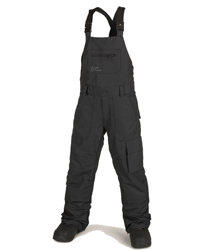 Volcom Snow Bib Overall Barkley Black