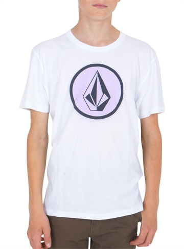Volcom T-shirt Spray Stone s/s White