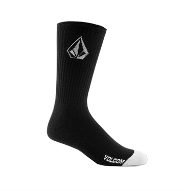 Volcom Socks 3-Pack Full Stone Black